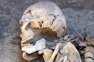 Kazakistan'da Savaşçı Kadın Mezarı Bulundu